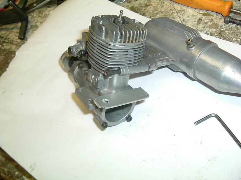 Démontage du  moteur du Calmato Dscf2727