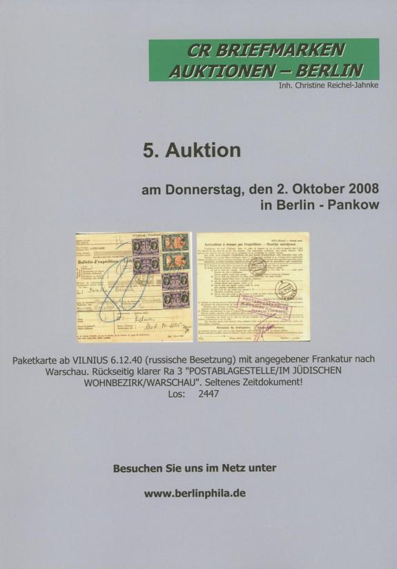 Auktionskataloge 010
