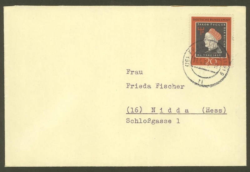 Bundesrepublik Deutschland  -  Einzel- und Mehrfachfrankaturen 30710