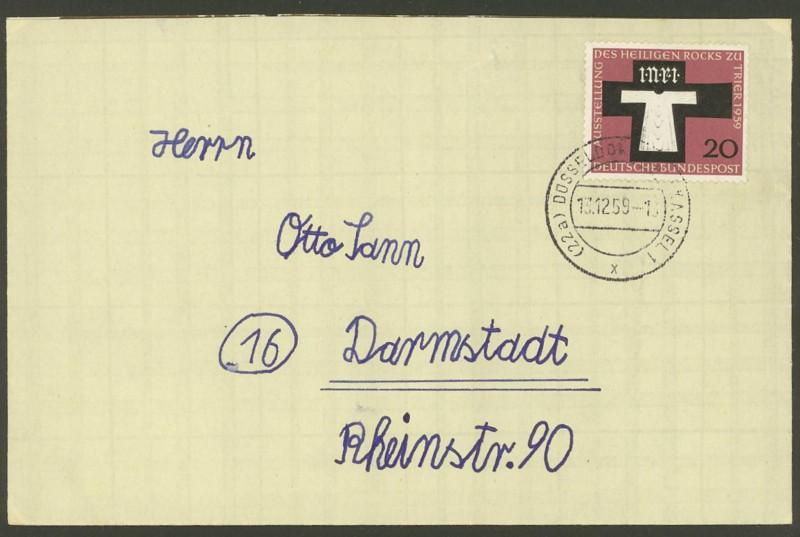 Bundesrepublik Deutschland  -  Einzel- und Mehrfachfrankaturen 31310