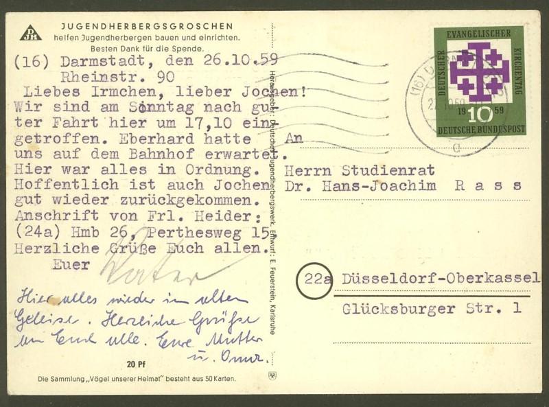 Bundesrepublik Deutschland  -  Einzel- und Mehrfachfrankaturen 31410