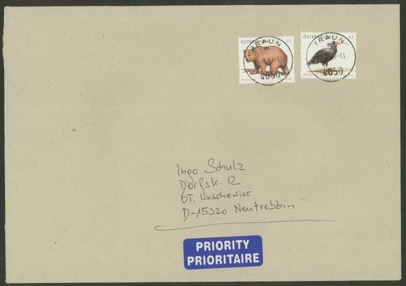 Österreich - Briefe an Cantus 3210
