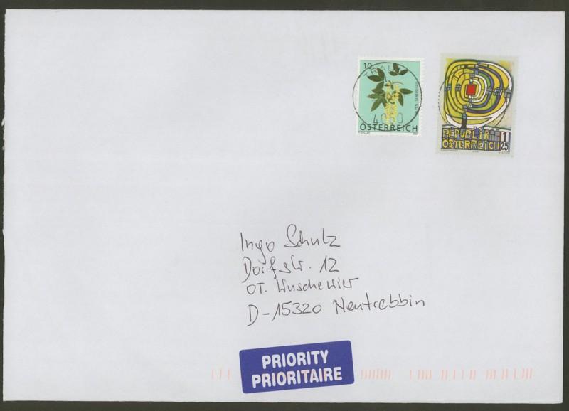 Österreich - Briefe an Cantus 3310