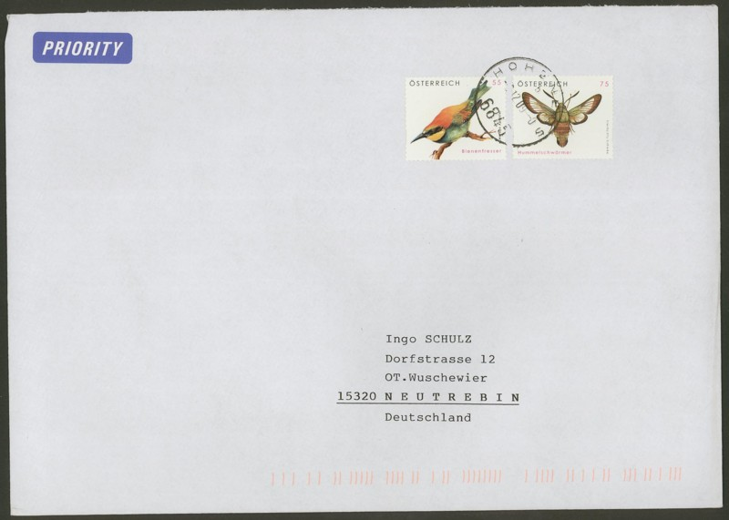 Österreich - Briefe an Cantus 3610