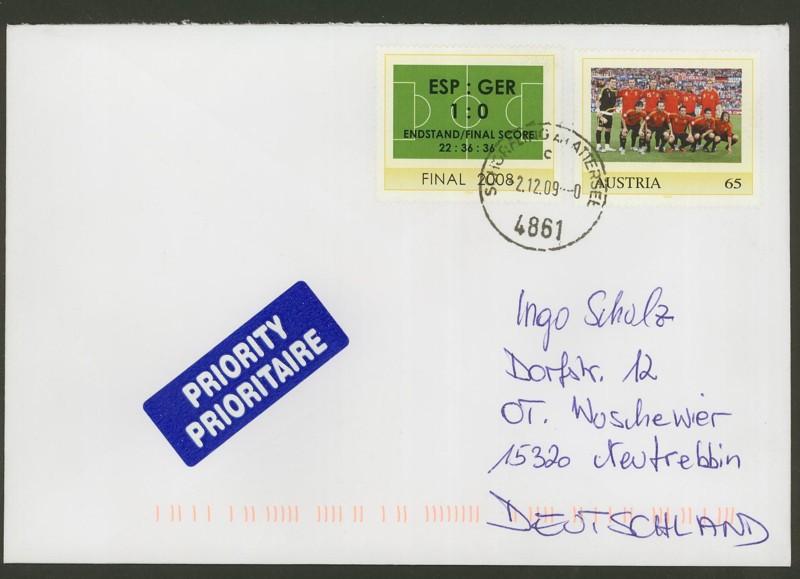 Österreich - Briefe an Cantus 3710