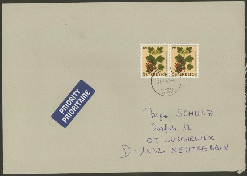 Österreich - Briefe an Cantus 3810