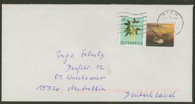 Österreich - Briefe an Cantus 3910