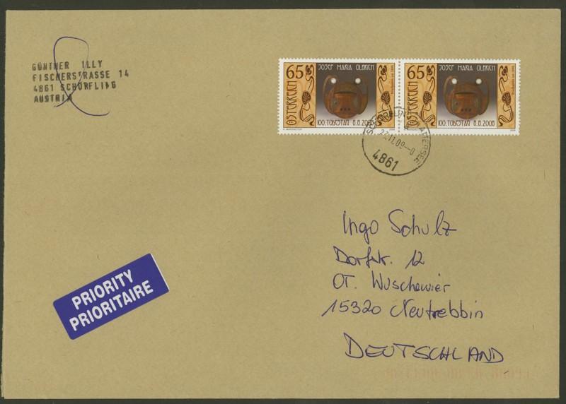 Österreich - Briefe an Cantus 4010