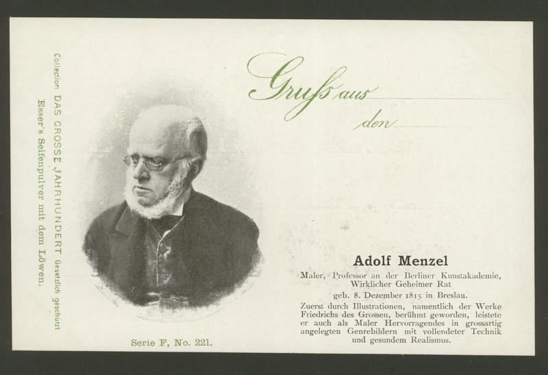Sammlung Persönlichkeiten des 19. Jahrhunderts Adolf_10