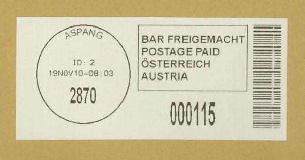 Bar-Codes in Österreich Aspang10