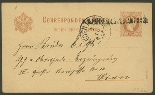 K.K.Fahrende Postämter Bp11