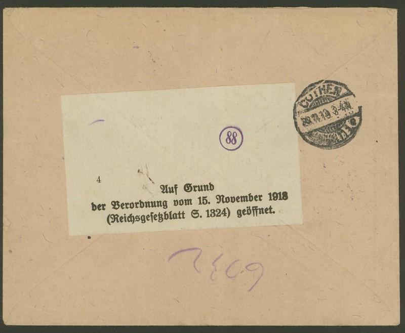 Republik Deutsch-Österreich  -  Bedarfspost Dez. 1918 - Dez. 1921 Bunter11
