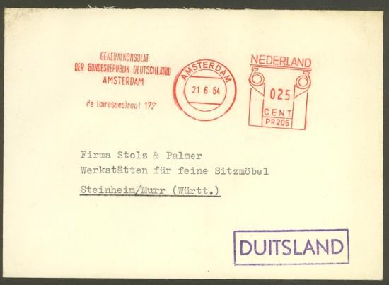 Konsulatspost aus Amsterdam Konsul10