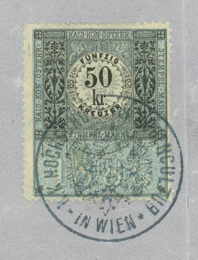 Die Verwendung von Fiskalmarken in Österreich Matrik11