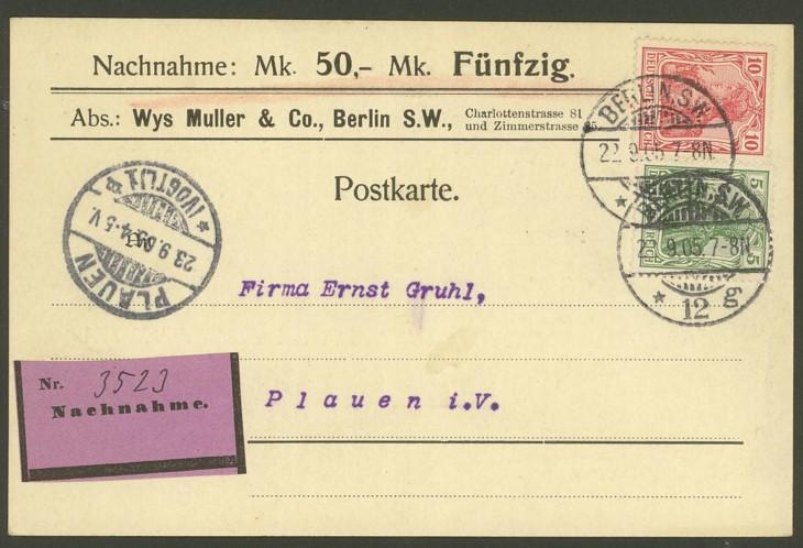 Germania-Frankaturen Mutua_10
