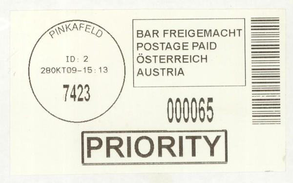 Bar-Codes in Österreich Pinkaf11