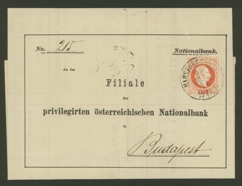 Briefe / Poststücke österreichischer Banken Priv_a10