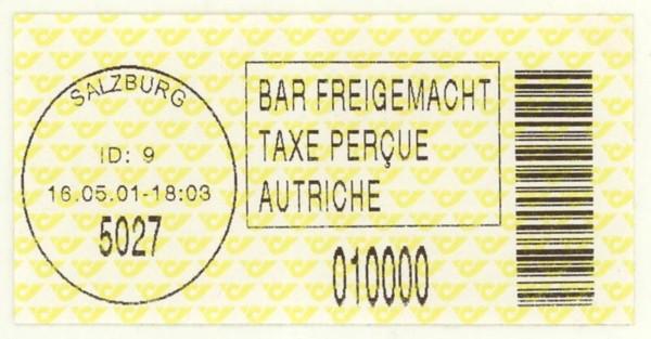 Bar-Codes in Österreich Salzbu10