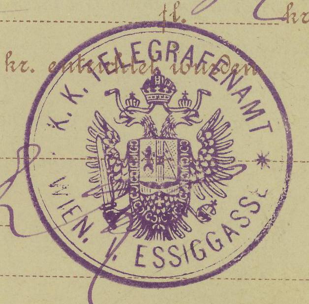 Telegramm - Aufgabebescheine Ta_17_29