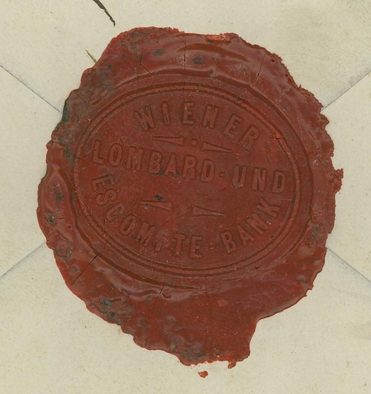 Briefe / Poststücke österreichischer Banken Wiener11