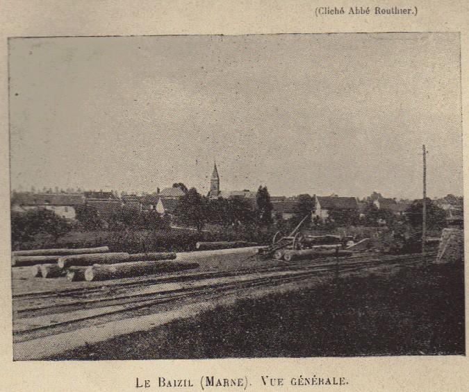 Abbé ROUTHIER - Les Prussiens au BAIZIL - Septembre 1914 02_pho10
