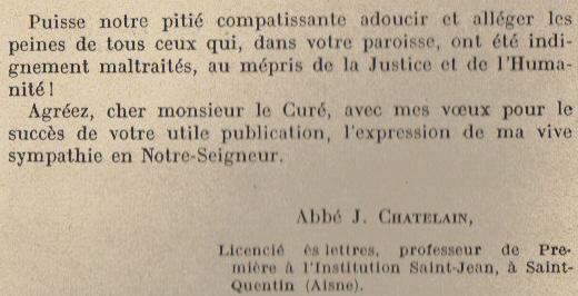 Abbé ROUTHIER - Les Prussiens au BAIZIL - Septembre 1914 04_let10