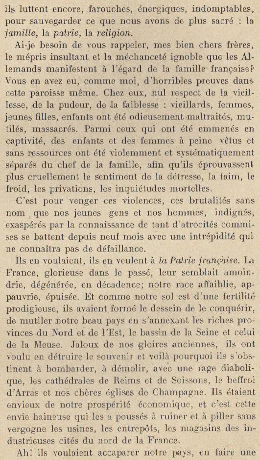 Abbé ROUTHIER - Les Prussiens au BAIZIL - Septembre 1914 22_mem10