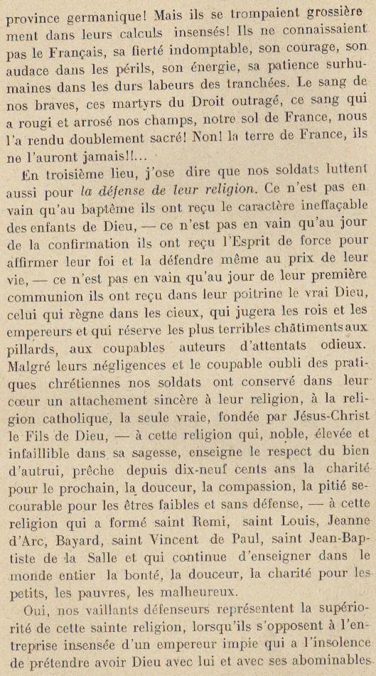 Abbé ROUTHIER - Les Prussiens au BAIZIL - Septembre 1914 23_mem10
