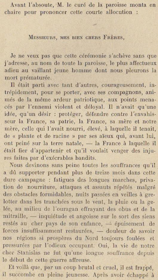 Abbé ROUTHIER - Les Prussiens au BAIZIL - Septembre 1914 26_mem10