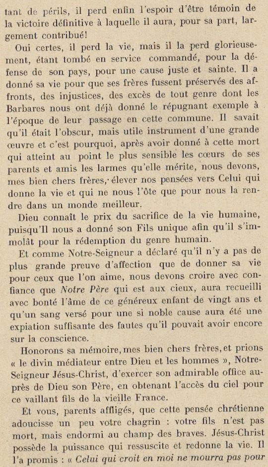 Abbé ROUTHIER - Les Prussiens au BAIZIL - Septembre 1914 27_mem10