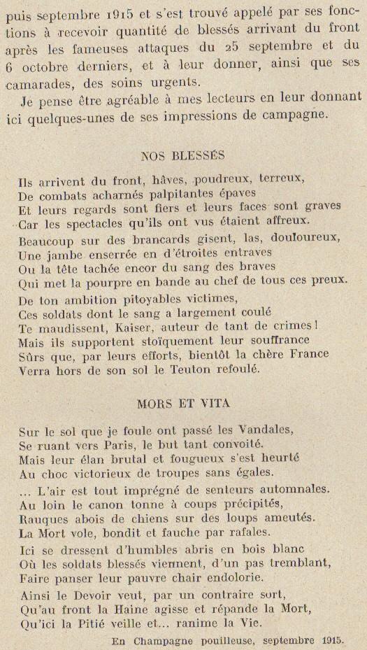 Abbé ROUTHIER - Les Prussiens au BAIZIL - Septembre 1914 29_mem10