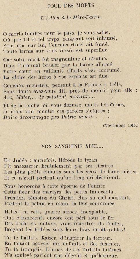 Abbé ROUTHIER - Les Prussiens au BAIZIL - Septembre 1914 30_mem10