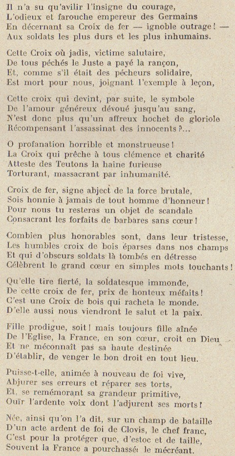 Abbé ROUTHIER - Les Prussiens au BAIZIL - Septembre 1914 33_mem10
