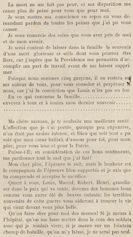 Abbé ROUTHIER - Les Prussiens au BAIZIL - Septembre 1914 36_sou10