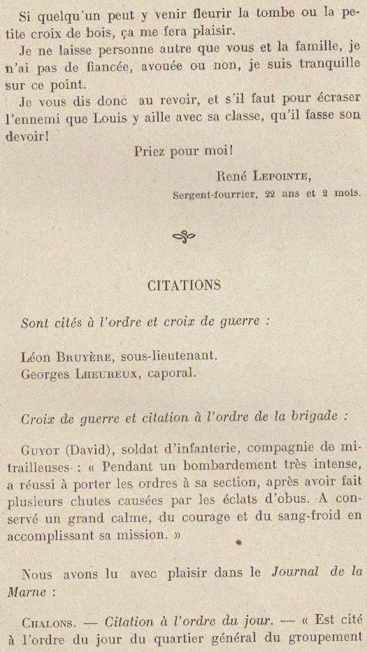 Abbé ROUTHIER - Les Prussiens au BAIZIL - Septembre 1914 37_sou10