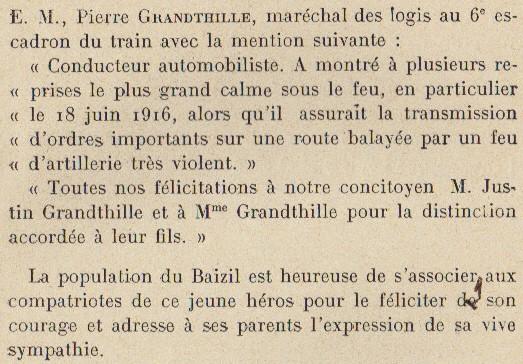 Abbé ROUTHIER - Les Prussiens au BAIZIL - Septembre 1914 38_sou10