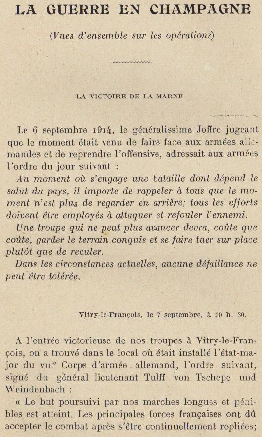 Abbé ROUTHIER - Les Prussiens au BAIZIL - Septembre 1914 39_ope10