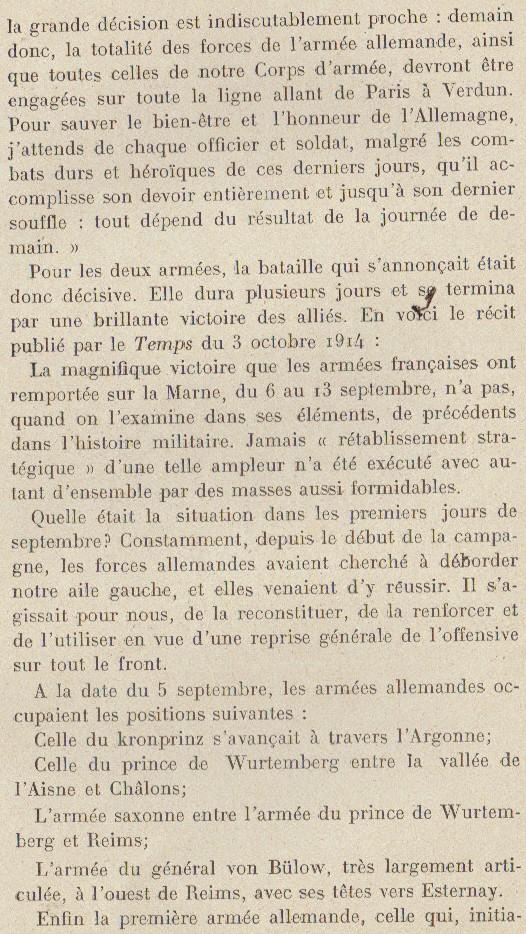 Abbé ROUTHIER - Les Prussiens au BAIZIL - Septembre 1914 40_ope11