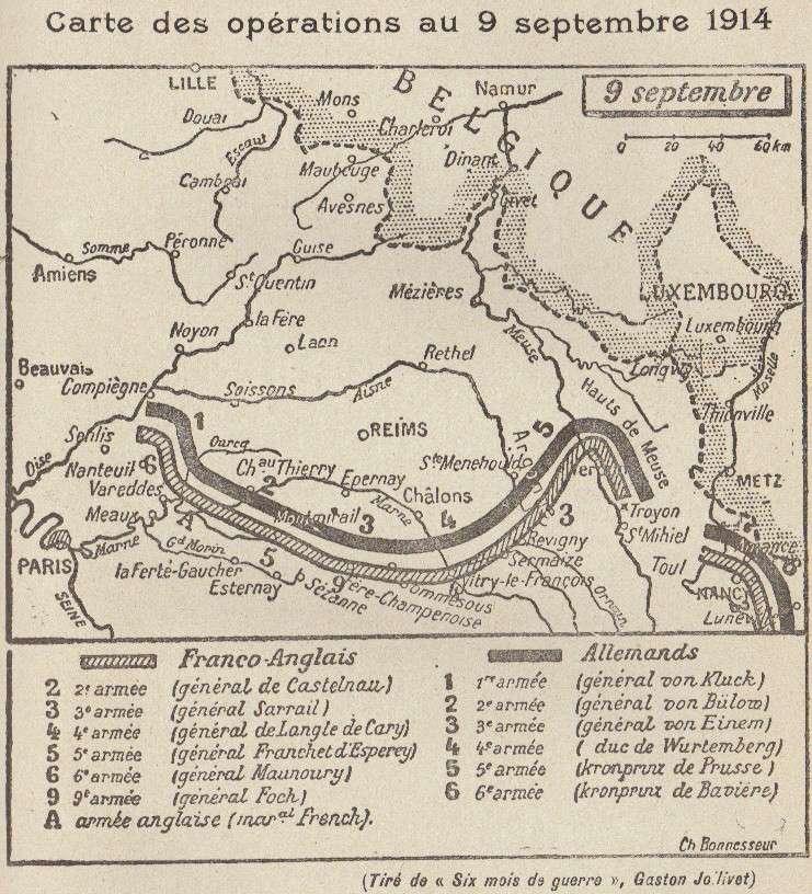 Abbé ROUTHIER - Les Prussiens au BAIZIL - Septembre 1914 41_ope10