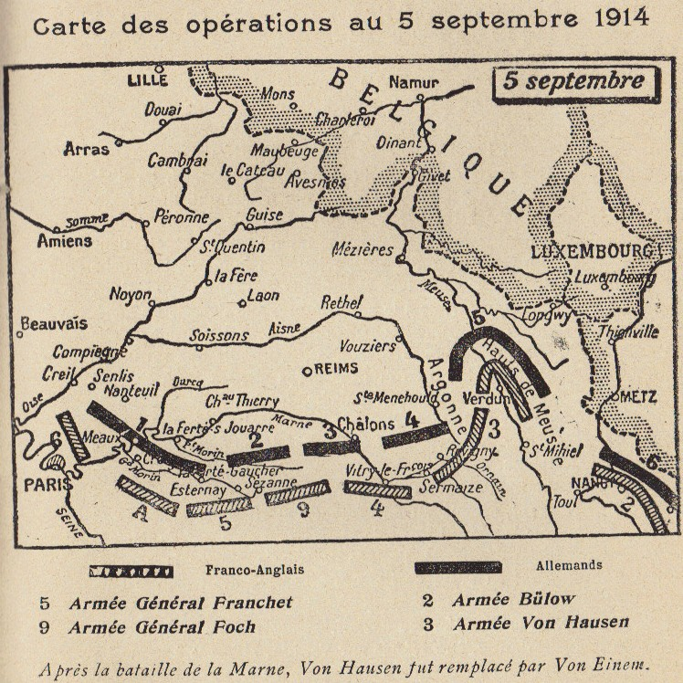 Abbé ROUTHIER - Les Prussiens au BAIZIL - Septembre 1914 43_ope10