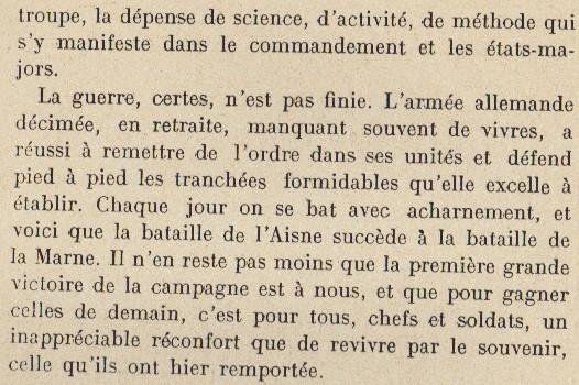 Abbé ROUTHIER - Les Prussiens au BAIZIL - Septembre 1914 46_ope10
