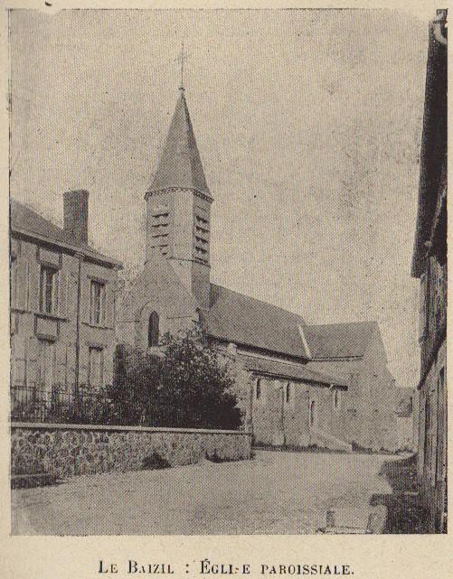 Abbé ROUTHIER - Les Prussiens au BAIZIL - Septembre 1914 49_pho10
