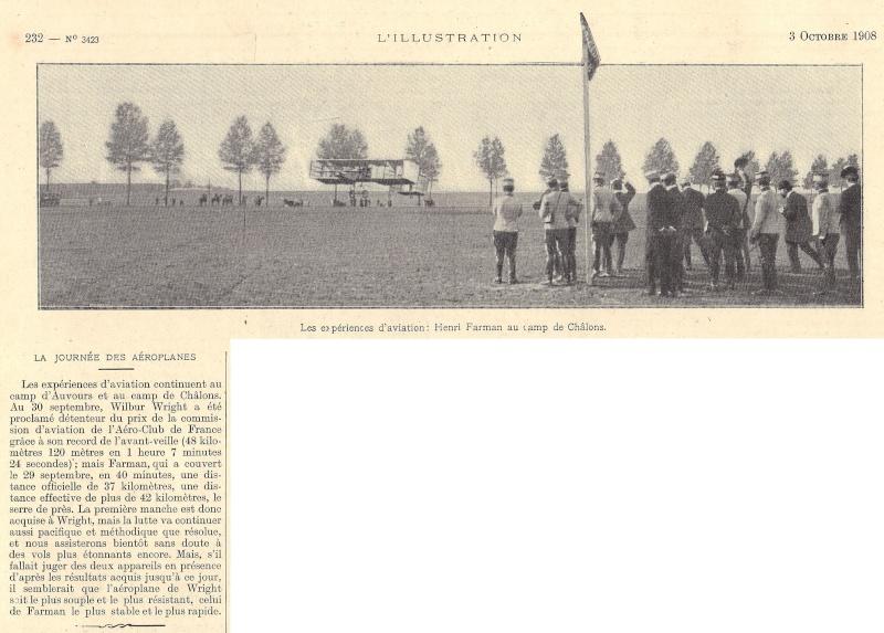 Place importante tenue par le Camp de CHÂLONS dans la naissance de l'Aviation L_illu18