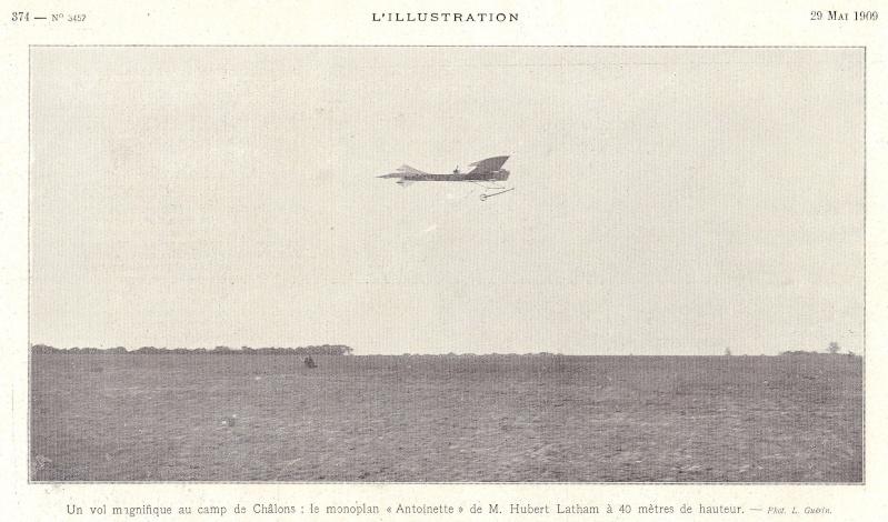 Place importante tenue par le Camp de CHÂLONS dans la naissance de l'Aviation L_illu19