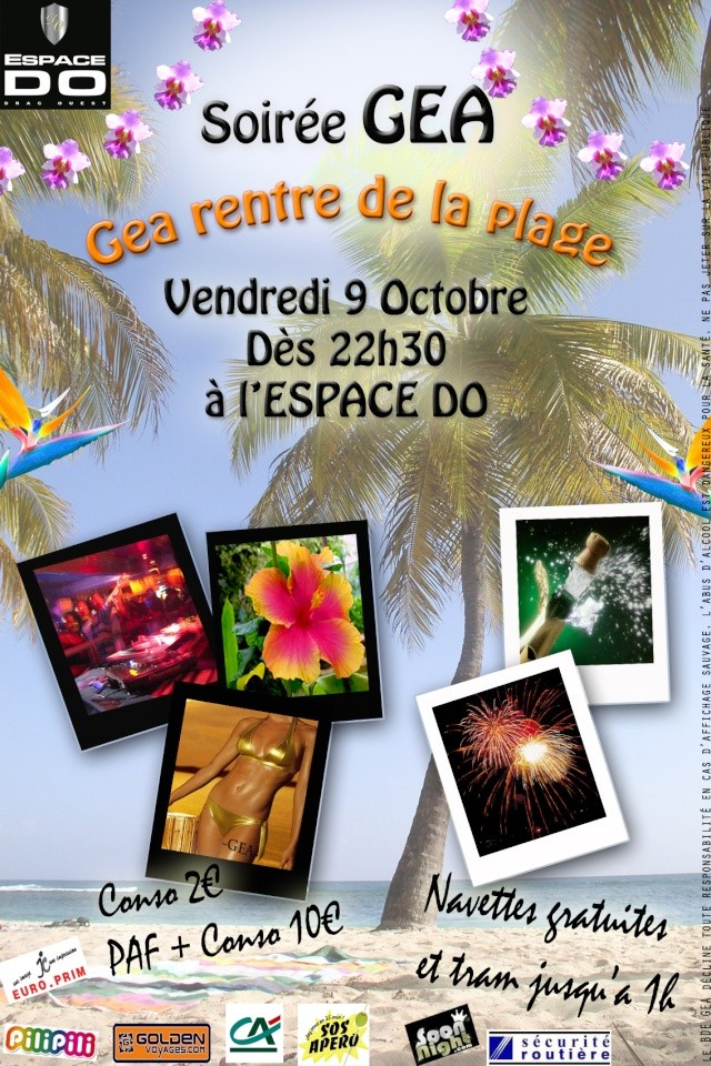 Forum Du BDE GEA de Grenoble - Portail Affich12