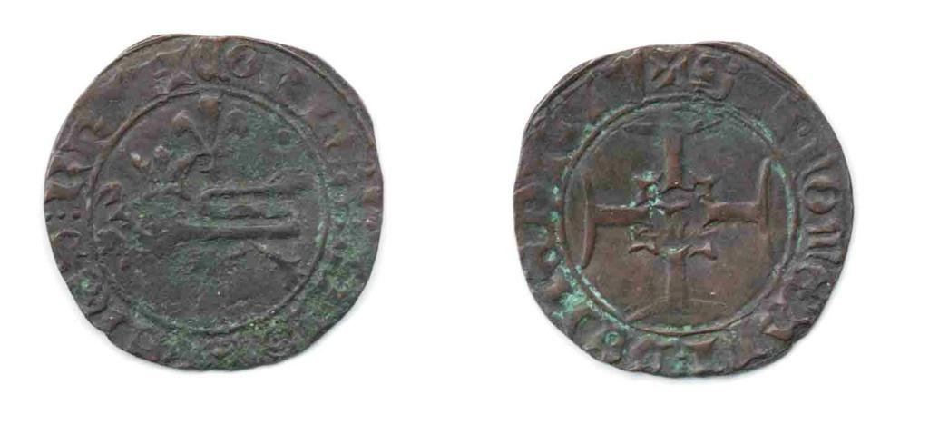 Henry V, Niquet ou Léopard de St Lô, vrai faux d'époque... Autres exemplaires à rechercher ! 441_a_11