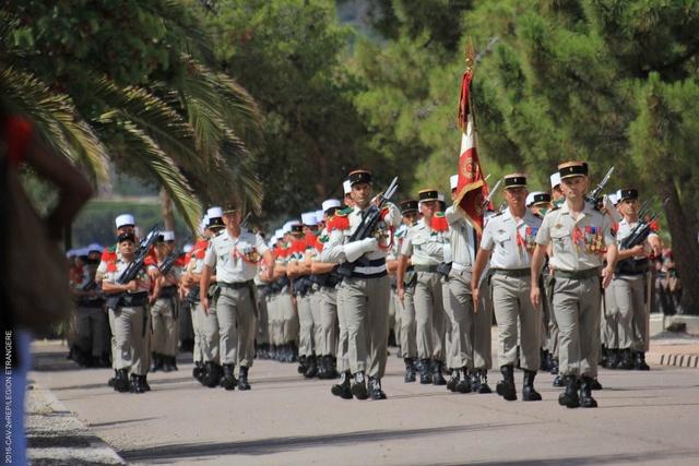 Le colonel Jean de MONICAULT nouveau chef de corps du 2e REP 22-07-10