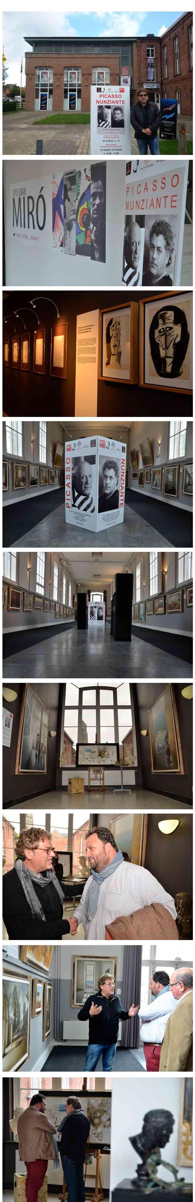 Picasso - Mirò - Nunziante - Bruges (B) 27 Giugno- 27 Settembre 2016 0112