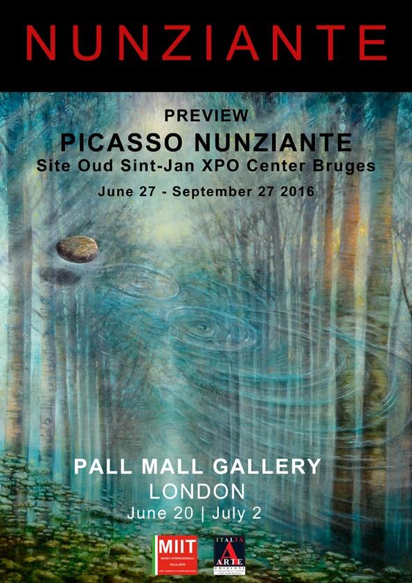 Personale alla PALL MALL Gallery - London - 20 Giugno - 2 Luglio 2016 A894fd10