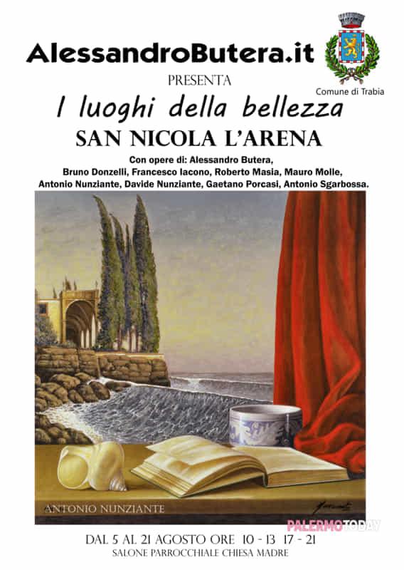 """Mostra collettiva """"I luoghi della bellezza"""" San Nicola l'Arena, dal 5 al 21 agosto 2016  Alessa10"""